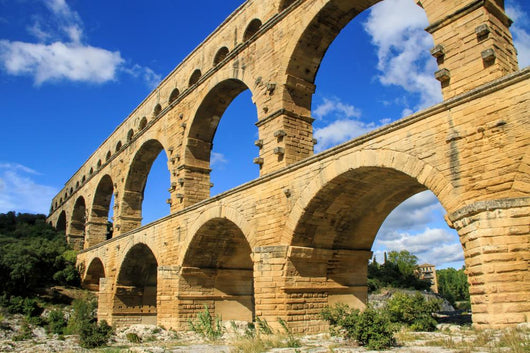 Pont du Gard, south of France Wall Mural