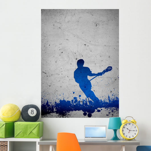 Lacrosse background Wall Mural
