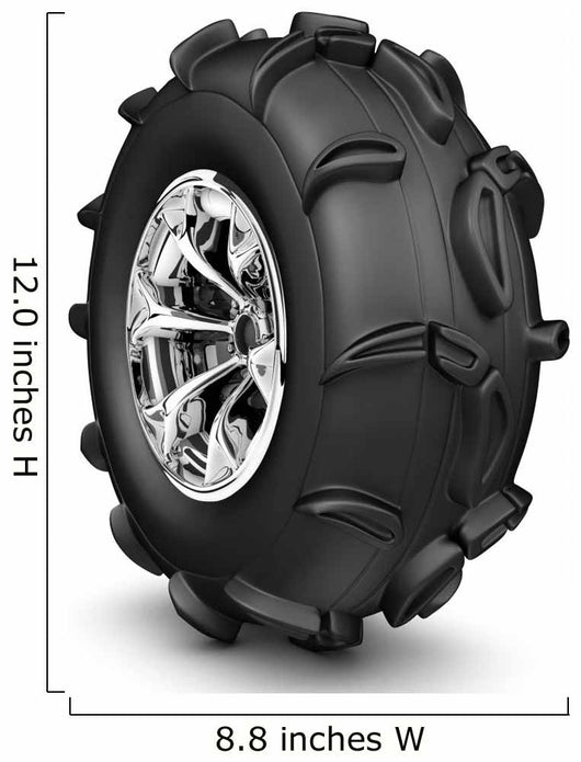 Monster truck wheel Wall Decal