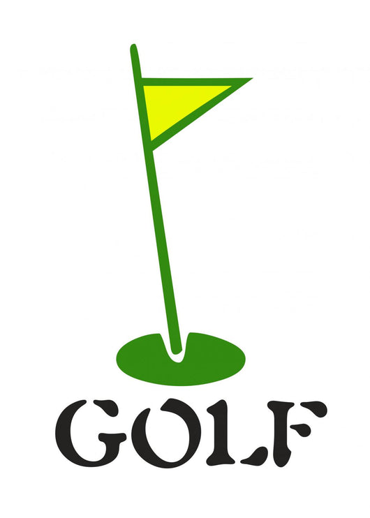 Golf Wall Decal