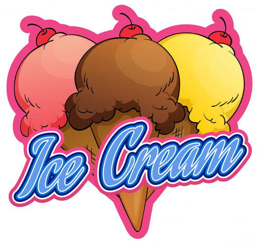 Ice-cream Wall Decal