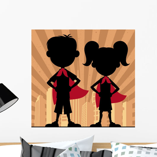 Super Kids 2 Wall Mural