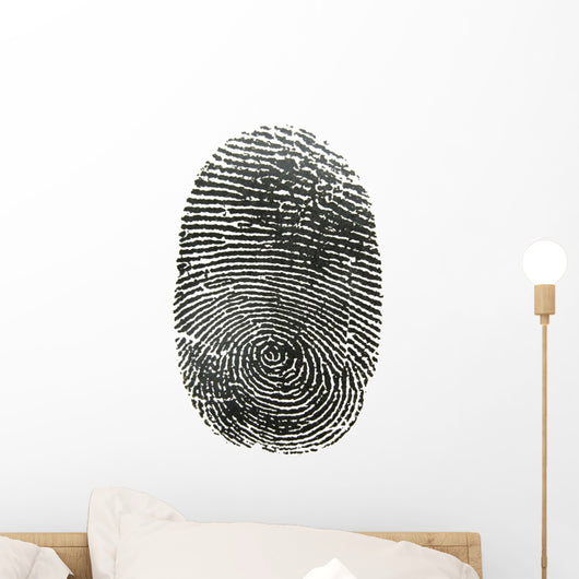 Finger Print Wall Decal