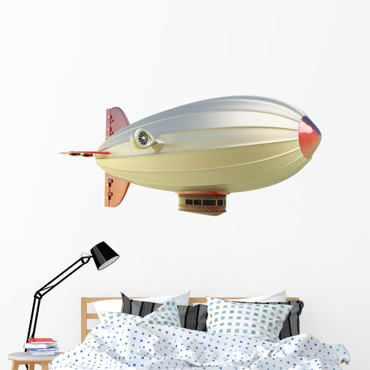 Airship Wall Decal