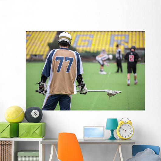 Lacrosse Wall Decal