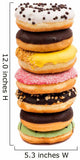 Assorted Donuts Wall Decal