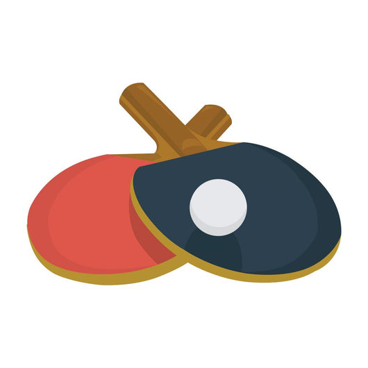 ping pong icon Wall Decal