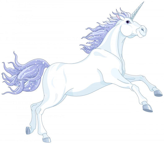 Fairy unicorn Wall Decal