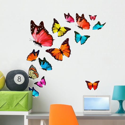 colorful butterflies Wall Decal