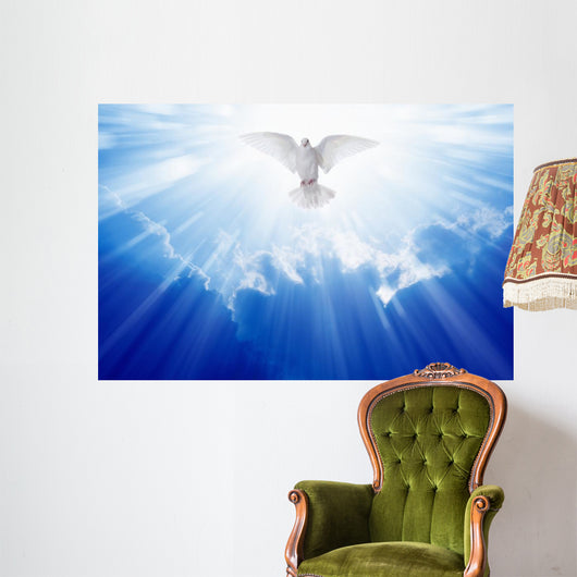 Holy Spirit Dove Wall Decal Wallmonkeys Com