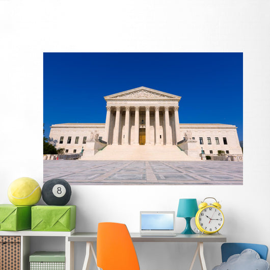 Supreme Court United States Wall Decal Design 2