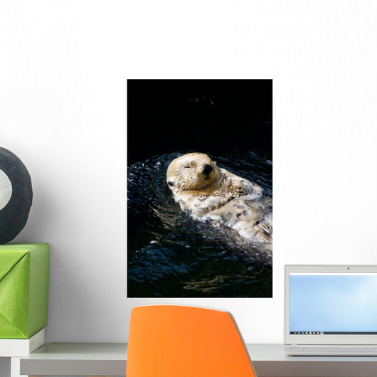 Sea Otter Wall Decal