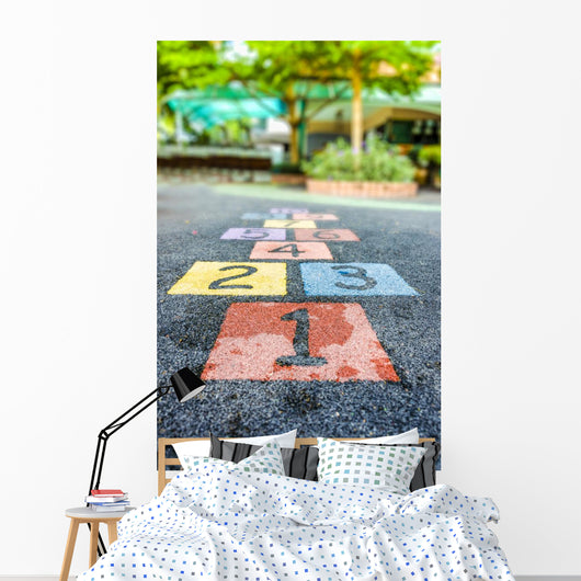 Nuber Playground Wall Decal Design 2