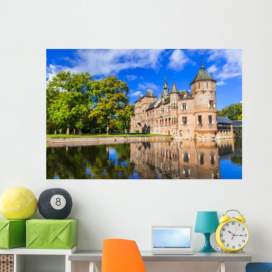 Beautiful Haar Castle Holland Wall Decal
