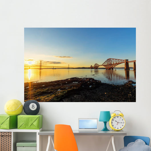 Two Bridges over Firth Wall Decal