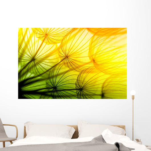 Dandelion Wall Decal Design 2