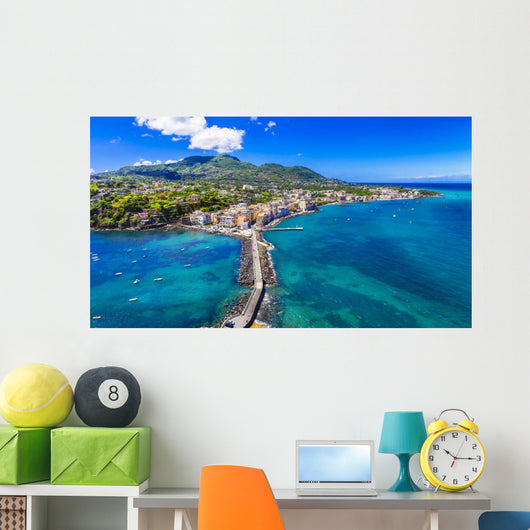 Ischia Island Italian Holidays Wall Decal