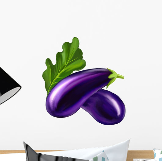 Eggplant Wall Decal