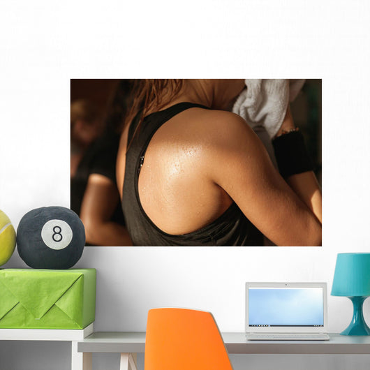 Detail Gym Shot Sweat Wall Decal