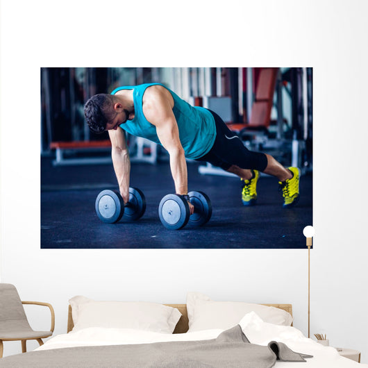 CrossFit Instructor Gym Doing Wall Decal