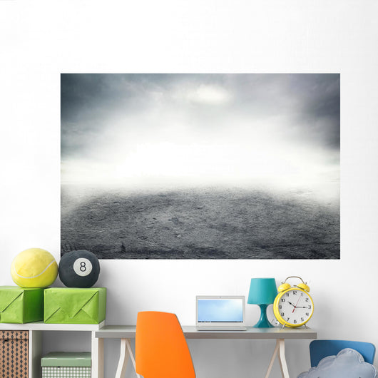 Mist Road Wall Decal