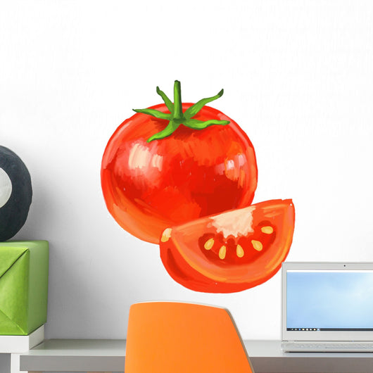 Picture Tomato Wall Decal