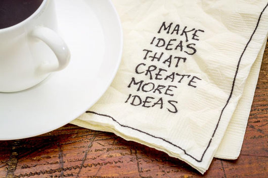Make Ideas Advice Napkin Wall Decal