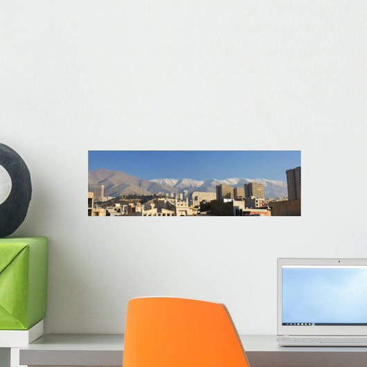 Teheran Iran Wall Decal Panoramic Wall Decal