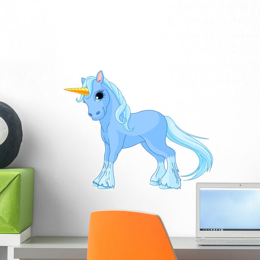 Standing Unicorn Wall Decal