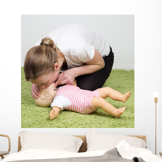 Infant Cpr Breathing Wall Decal