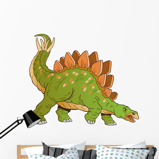 Stegosaurus Dinosaur Vector Wall Decal