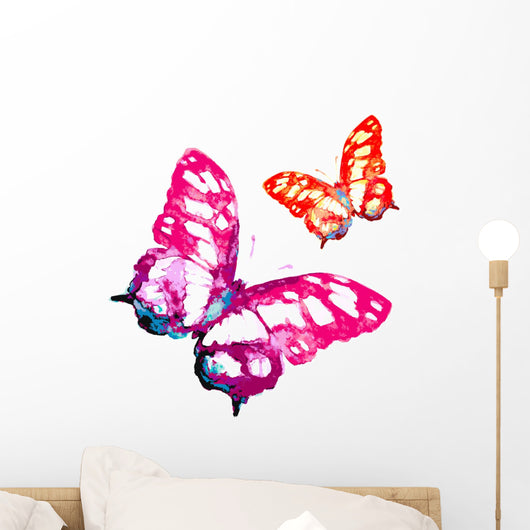 00103 Wall Stickers Wall Decals Butterfly Design 35x50cm