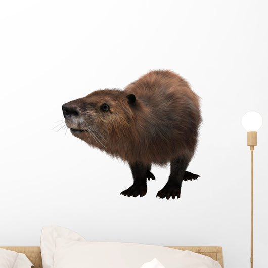 Beaver Wall Decal Design 2