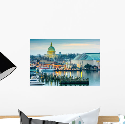 Annapolis Maryland USA Chesapeake Wall Decal