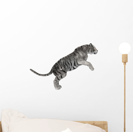 White Tiger Wall Decal Design 3