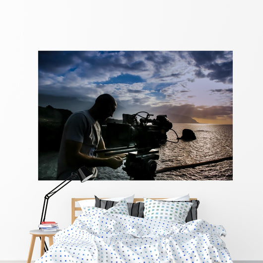 Cameraman Wall Decal