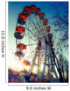 Ferris Wheel Style Instagram Wall Decal