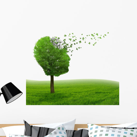 Brain Disease Memory Loss Wall Decal