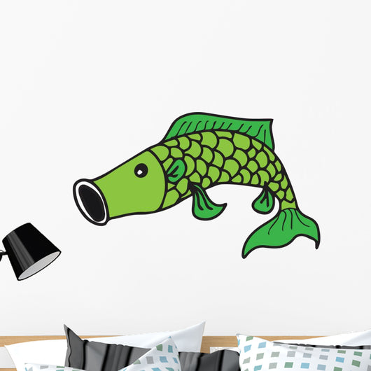 Fish Cartoon 2 Wall Decal
