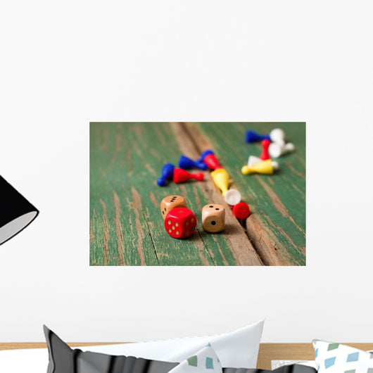 Gaming Dice Wall Decal