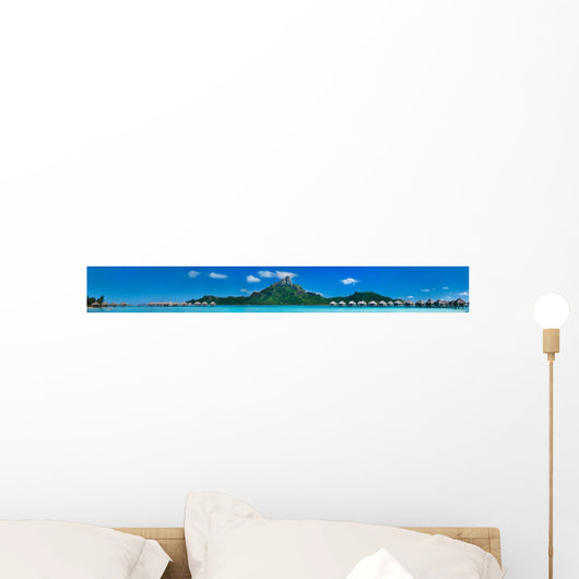 Bora Bora Islands Wall Decal Panoramic Wall Decal