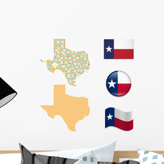 High Detailed Map Texas Wall Stickers – WallMonkeys.com on lakes of texas, detailed texas map with cities and towns, well known landmarks in texas, the three branch of texas, us map texas, hotels of texas, all cities in texas, mapquest maps south texas, austin texas, sun of texas, google of texas, weather of texas, detailed texas road atlas, winds of texas, project of texas, republic of texas, borger tx map texas, southern coast of texas, flickr texas, business of texas,