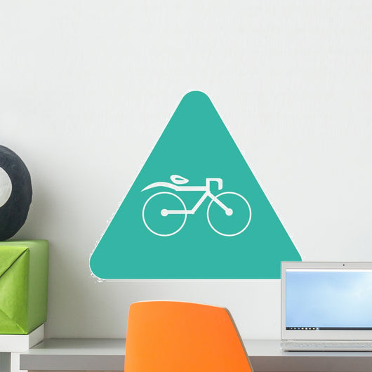 Bicycle Icon Wall Decal