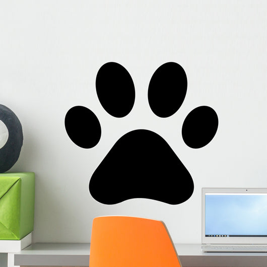 Paw Print Wall Decal