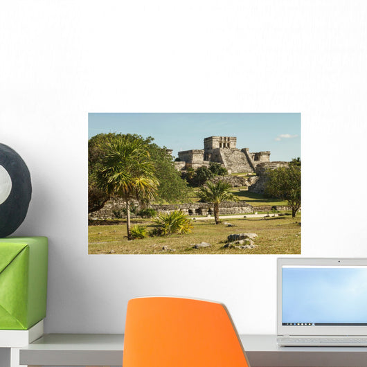 Castillo Fortress Ancient Mayan Wall Decal