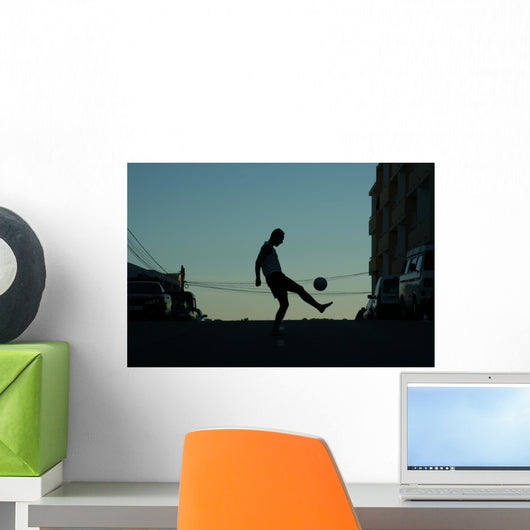 Street Soccer Wall Decal