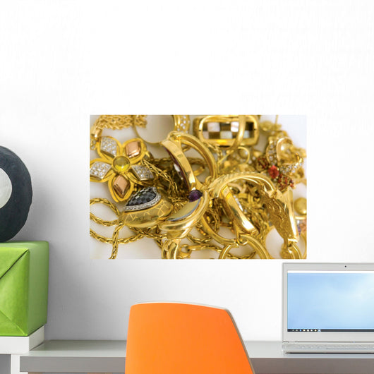 Gold Wall Decal