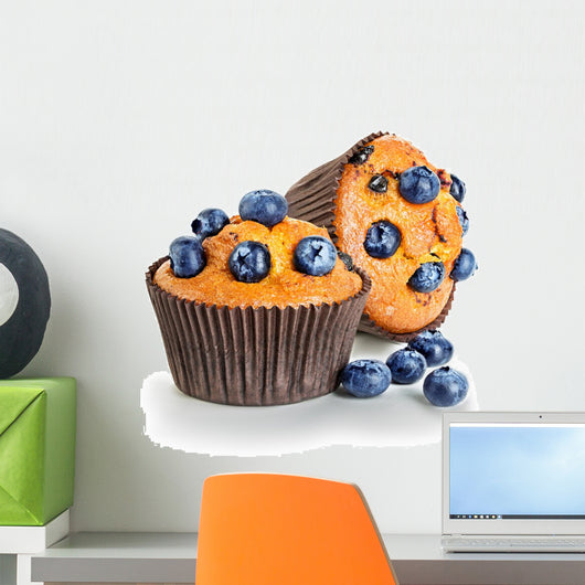 Blueberry Muffins Wall Decal