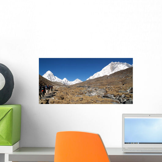 Trekking to Everest Wall Decal