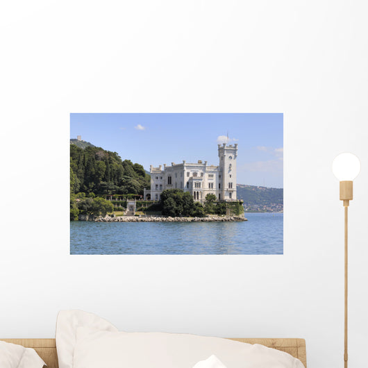 Miramare Castle Trieste Italy Wall Decal